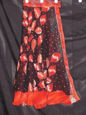 P2608 Preteen/Girls Reversible Sari Wrap Skirt