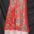 P2613 IRREGULAR Preteen/Girls Reversible Sari Wrap Skirt
