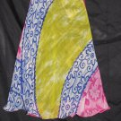 P2616 Preteen/Girls Reversible Sari Wrap Skirt