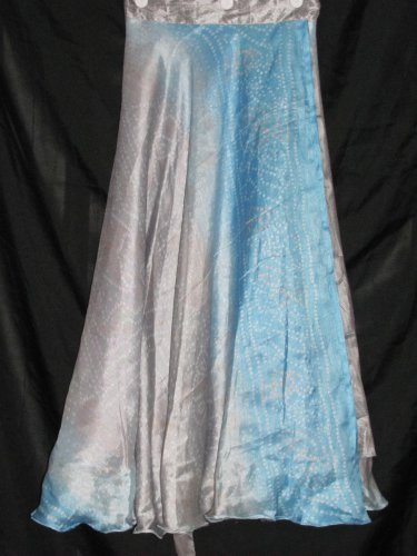 S3428 Small Reversible Sari Wrap Skirt