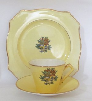 Royal Winton England  Cup Saucer and Plate Set Canada