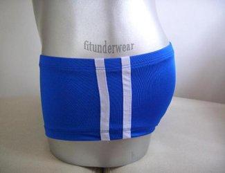 Men's Sexy Lingerie Stretch Boxer Underwear Lowcut#BX33