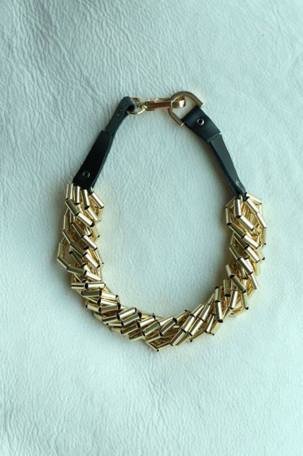 NL06 New Design Fashion Style Party or Wedding Golden Necklaces