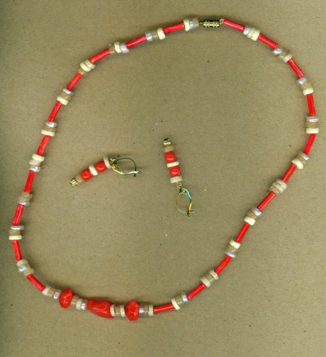 Coral and Puka Set