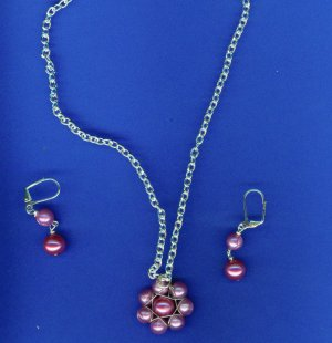 Pink Wrapped Flower Set