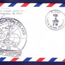 USCGC BURTON ISLAND WAGB-283 DEEP FREEZE 1976 Polar Ship Cover