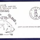 USCGC STATEN ISLAND WAGB-278 DEEP FREEZE 1973 Polar Ship Cover