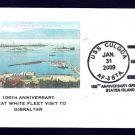 Stores Ship USS CULGOA AF-3 GWF Gibraltar Naval Cover ONLY 7 MADE