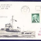 Minehunter USS GILLISS MHC-13 MHcachets Naval Cover ONLY 1 MADE