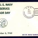 Destroyer USS BROWNSON DD-868 1948 Naval Cover