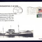T-AO-111 USNS MISSION BUENAVENTURA MHcachets Naval Cover ONLY 1 MADE