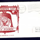 USS BENNINGTON CVS-20 Indepedence Day 1963 Naval Cover