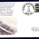 USS FLOYDS BAY AVP-40 1955 Naval Cover MHcachets ONLY 1 MADE