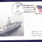 USS PRINCETON LPH-5 Naval Cover MHcachets ONLY 1 MADE