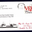 USNS NODAWAY T-AOG-78 Naval Cover MHcachets ONLY 1 MADE