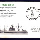 Cargo Ship USS UVALDE AKA-88 Naval Cover MHcachets ONLY 1 MADE