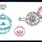 USS TREPANG SSN-674 Port Everglades FL Naval Submarine Cover