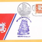 USCGC EAGLE Operation Sail Boston USCG Ship Cover