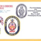 USS WINSTON CHURCHILL DDG-81 Philadelphia Naval Cover