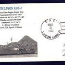 USS LUZON ARG-2 MHcachets 1952 Naval Cover