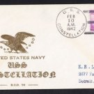 USS CONSTELLATION IX-20 WWII Naval Cover