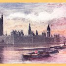 HOUSES OF PARLIAMENT United Kingdom Postcard