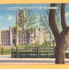FORDHAM UNIVERSITY KEATING HALL New York City Postcard