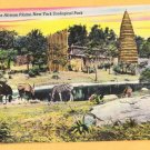 NEW YORK ZOOLOGOCAL PARK AFRICAN PLAINS New York City Postcard