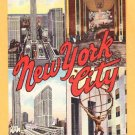 NEW YORK CITY LANDMARKS New York City Postcard