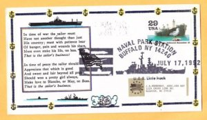 USS LITTLE ROCK CLG-4 Naval Cover