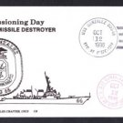USS GONZALEZ DDG-66 Commissioning Naval Cover