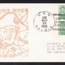 USS KALMIA AT-23 San Diego 1938 Naval Cover