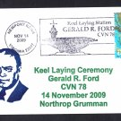 USS GERALD FORD CVN-78 Keel Laying Naval Cover