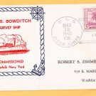 USS BOWDITCH AG-30 Commissioning 1940 Naval Cover