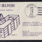 USS NEBRASKA SSBN-739 Delivery To US Navy Naval Submarine Cover