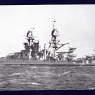 USS ARIZONA BB-39 Battleship Navy Ship Postcard
