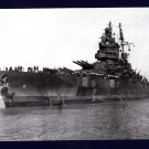 USS MISSISSIPPI BB-41 Battleship Navy Ship Postcard