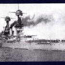 USS CALIFORNIA BB-44 Battleship Navy Ship Postcard
