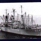 USS MERRICK AKA-97 Attack Cargo Ship Postcard