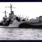 USS SAN JUAN CL-54 Cruiser Navy Ship Postcard