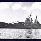 USS BALTIMORE CA-68 Cruiser Navy Ship Postcard