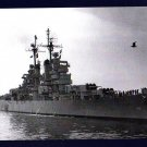 USS ATLANTA CL-104 Cruiser Navy Ship Postcard