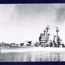 USS LOS ANGELES CA-135 Cruiser Navy Ship Postcard