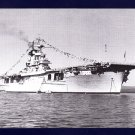 USS WASP CV-7 Aircraft Carrier Navy Ship Postcard