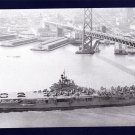 USS PHILIPPINE SEA CVA-47 Aircraft Carrier Navy Ship Postcard