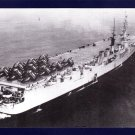 USS SAIPAN CVL-48 Aircraft Carrier Navy Ship Postcard