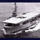 USS BADOENG STRAIT CVE-116 Escort Carrier Navy Ship Postcard