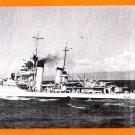 USS SMITH DD-378 Destroyer Navy Ship Postcard