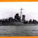 USS RALPH TALBOT DD-390 Destroyer Navy Ship Postcard