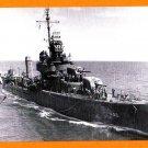 USS LAFFEY DD-459 Destroyer Navy Ship Postcard